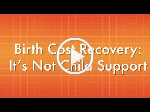 "Birth Cost Recovery: ""It's Not Child Support."""