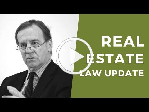 Residential Real Estate Law Update