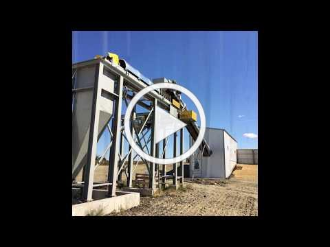 MERTS, LLC bagging and concrete products plant combination batching