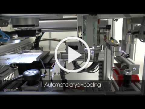 CrystalDirect® - Fully-automated crystal harvester Robot