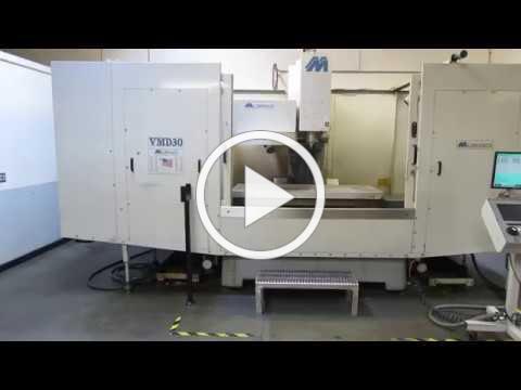 Milltronics VMD30 F CNC Vertical Machining Center For Sale