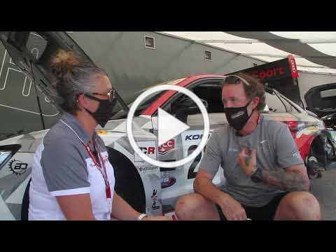 Return to racing in Canada interview with Dale and Tiffany.