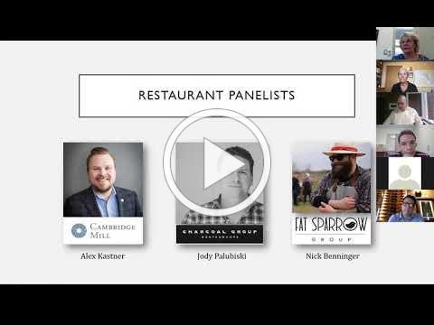 COVID-19 Best Practices for Waterloo Region Restaurants