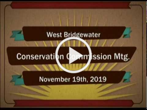 2019-11-19 WB Conservation Commission