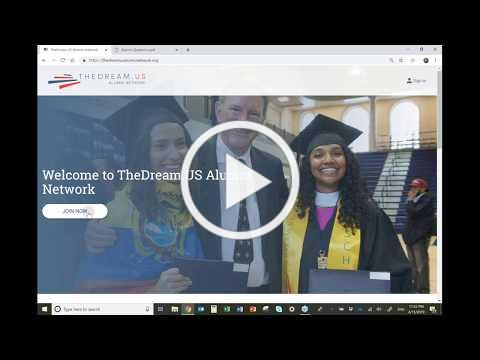 TheDream.US Alumni Network Platform - Overview for Supporters