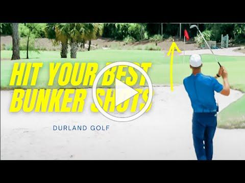 GOLF TIP | How To HIT A BUNKER SHOT In Golf