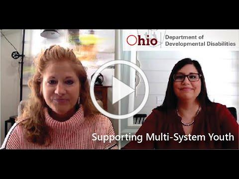 DODD's Vision for Supporting Multi-System Youth