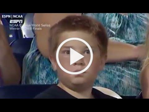 Boy's Epic Staredown Battle Goes Viral