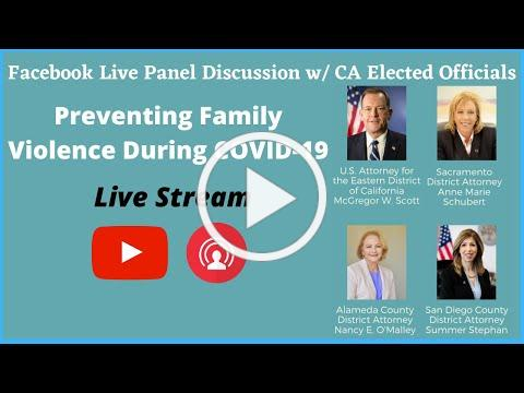 Preventing Family Violence During COVID-19