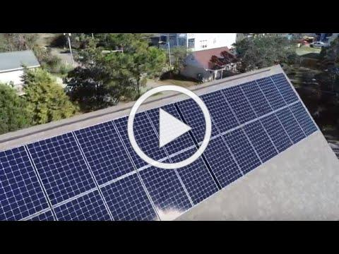 We installed solar right before a major hurricane!