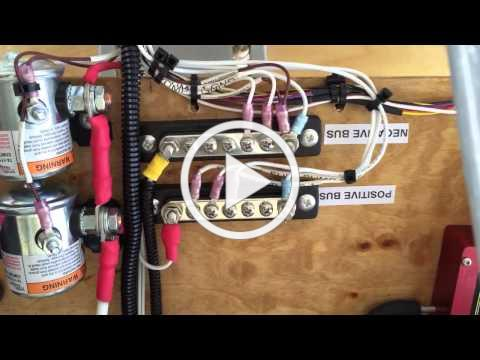 Viking aircraft engine positive bus wiring