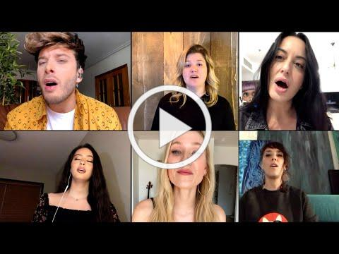 Kelly Clarkson - I Dare You Mega-Mix Global Virtual Performance Video