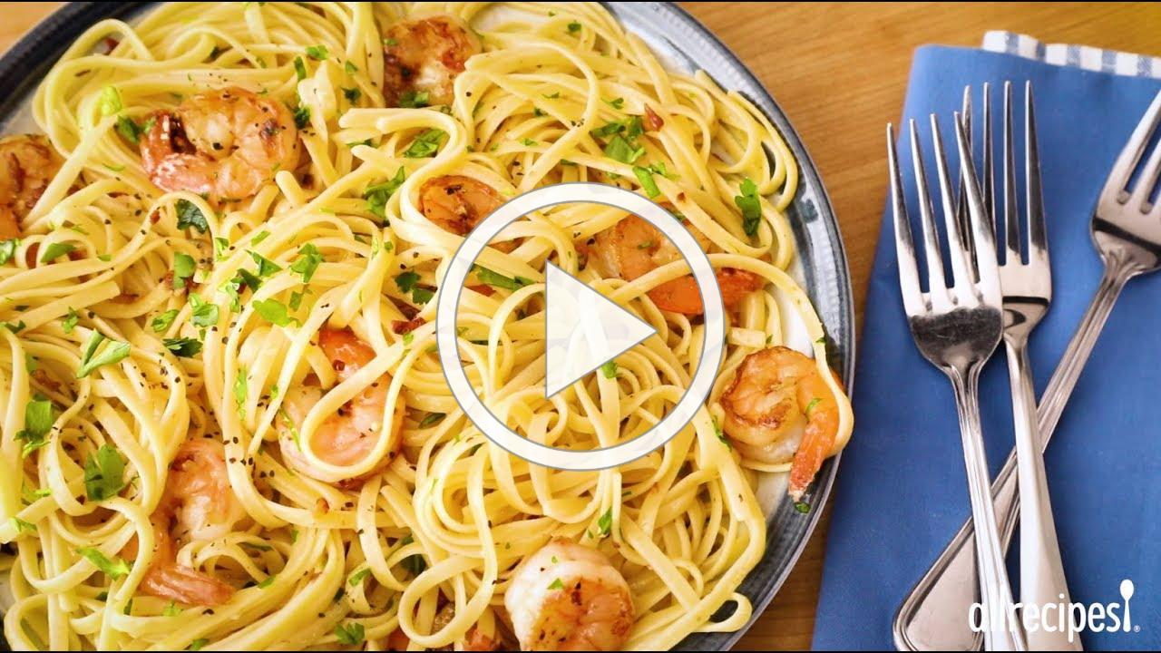How to Make Shrimp Scampi with Pasta | Shrimp Recipes | Allrecipes.com