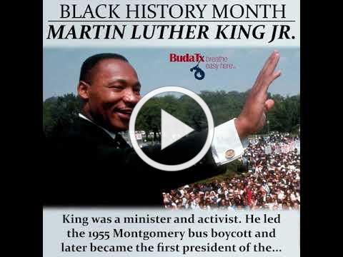 Black History Month: Martin Luther King Jr.