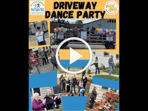 Driveway Dance Party Video