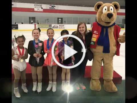 Skate Midland & 2018 MI Basic Skills Series Finale- AAFSC 1st Place!