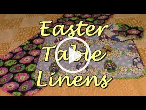 Easter Table Linens