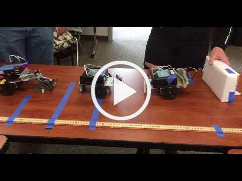 Robot Conga Line