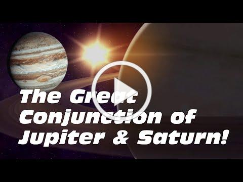Jupiter and Saturn Align... The Great Conjunction 2020!