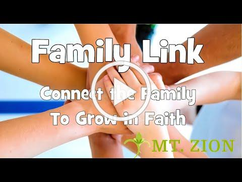 Mt. Zion Family Link - Nov. 8, 2020