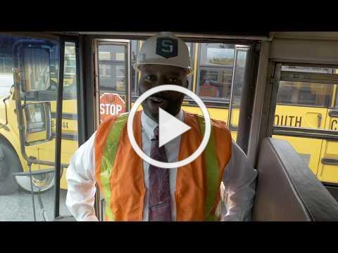 TAKE PRECAUTION WITH MR. DAWKINS | School Bus Safety