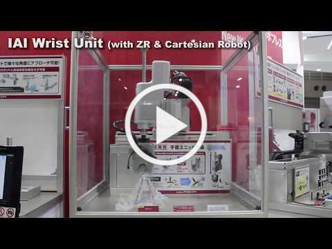 IAI Wrist Unit (with ZR Unit and Cartesian Robot)