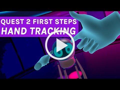 Oculus Quest First Steps Hand Tracking - 8 minutes of gameplay