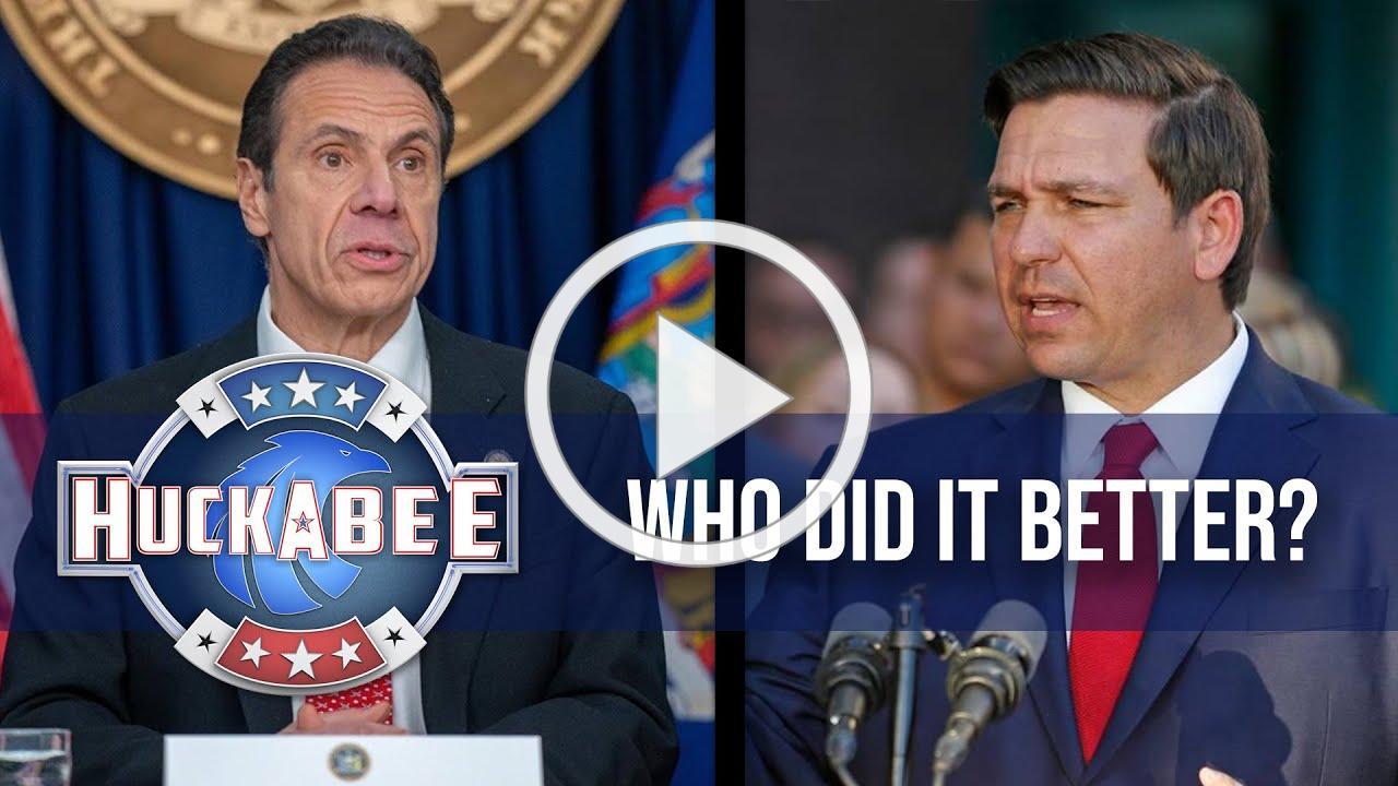 Whitmer/Cuomo VS Governor DeSantis: Who Did It Better? | Huckabee