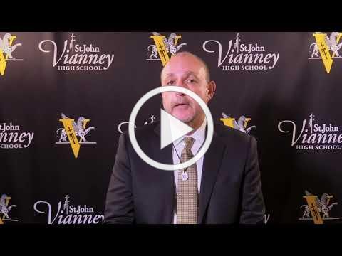 St John Vianney High School: President Rick Davis