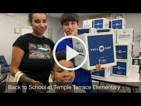 Back-to-School Surprise to Support Families