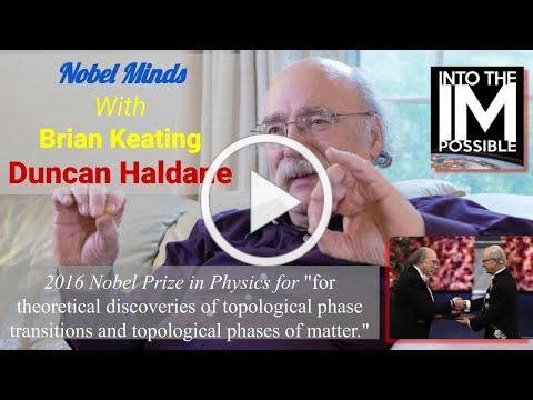 Duncan Haldane: Winner of the 2016 Nobel Prize in Physics: Strange & Delicious Topological Matter!
