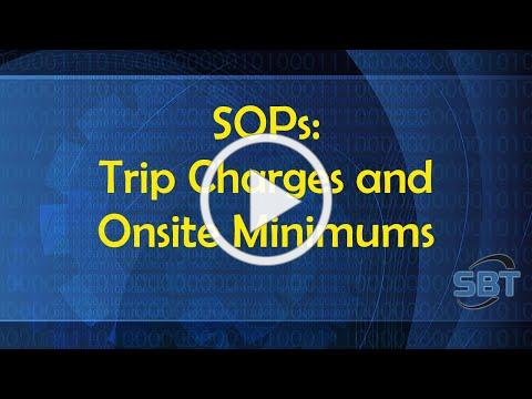 SOP: Trip Charges