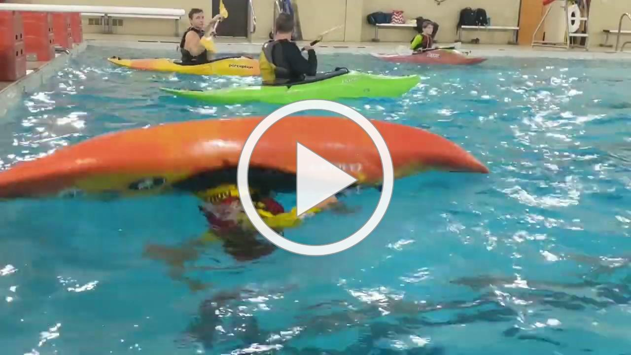Rapid Learning Kayak Hand Roll Demonstration