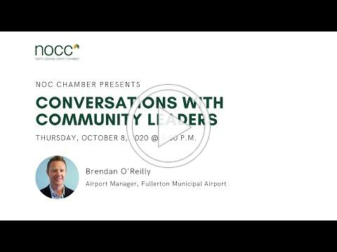 Conversations with Community Leaders: Brendan O'Reilly