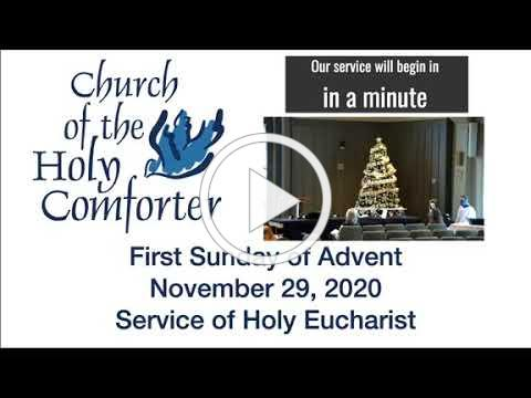 First Sunday of Advent - November 29, 2020