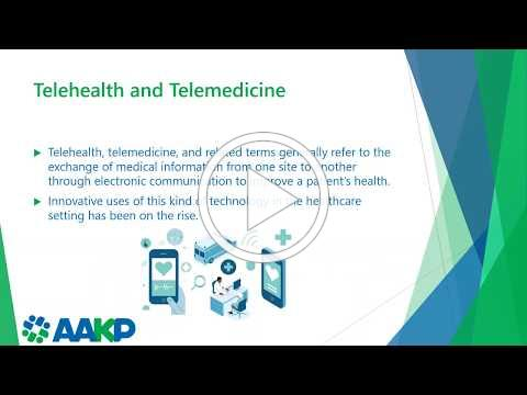 Telemedicine Utilization in the COVID-19 Era: What Patients Should Know