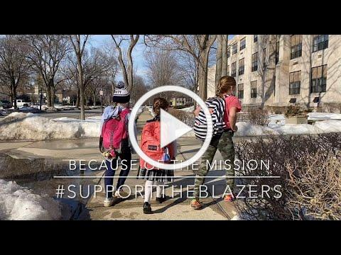 #BecauseOfTheMission #SupportTheBlazers