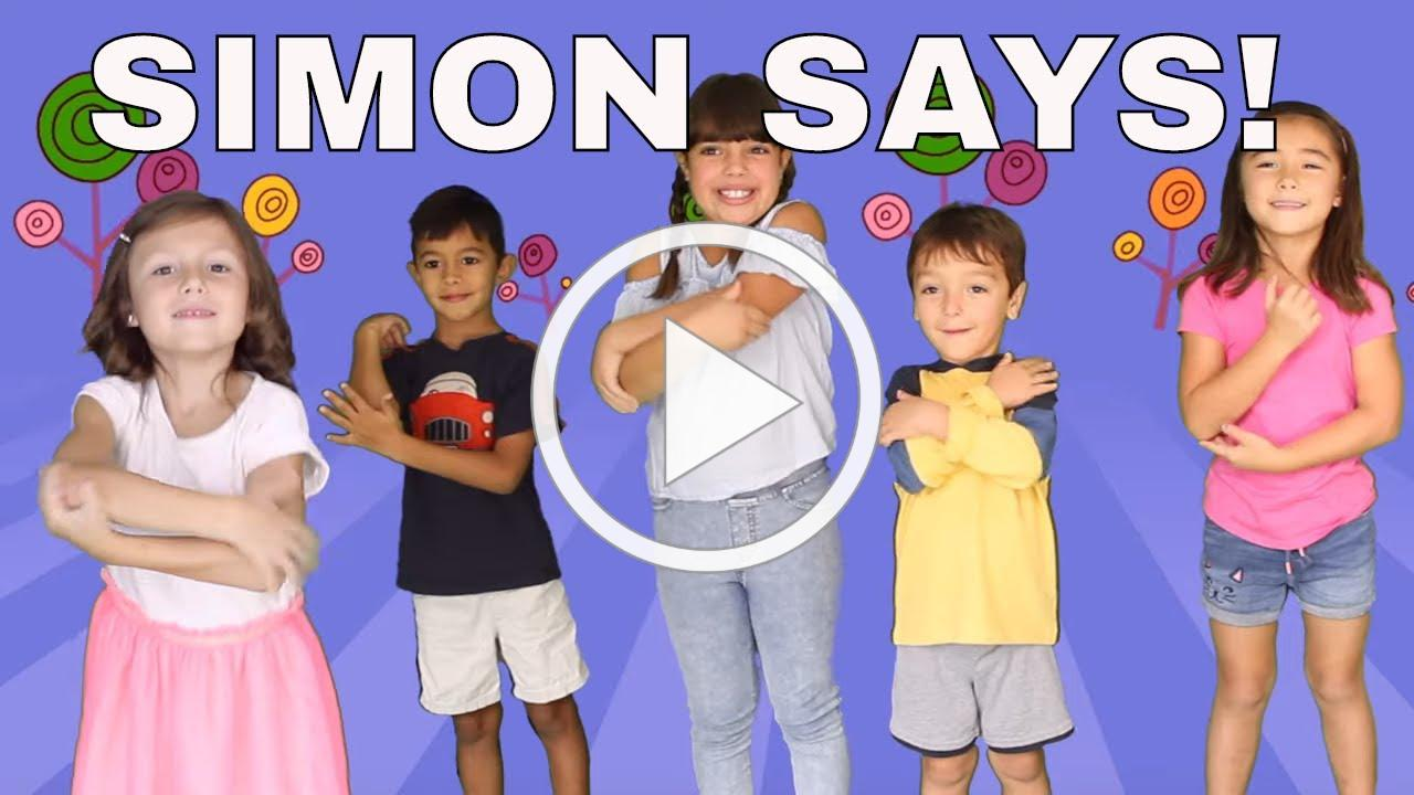 Simon Says Song for Children by Patty Shukla