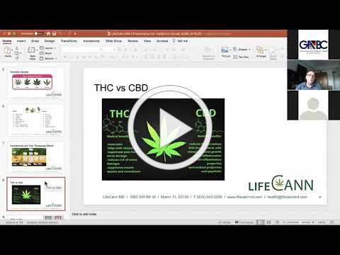 GABC webinar with LifeCann MD about Medical Marijuana