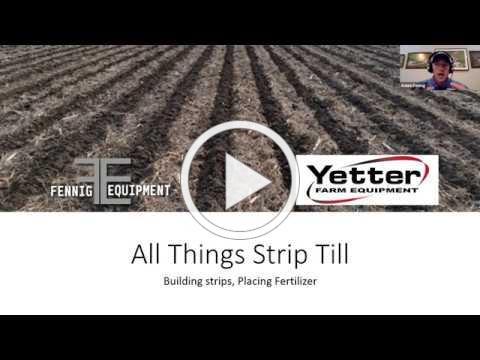 All Things Strip Till Webinar