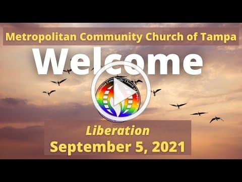 MCC Tampa Sunday Service Sept 5, 2021