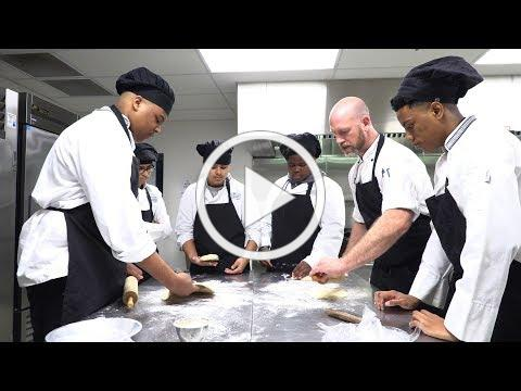 CONNECTING STUDENTS TO THEIR FUTURE - Hospitality Pathway, featuring culinary arts