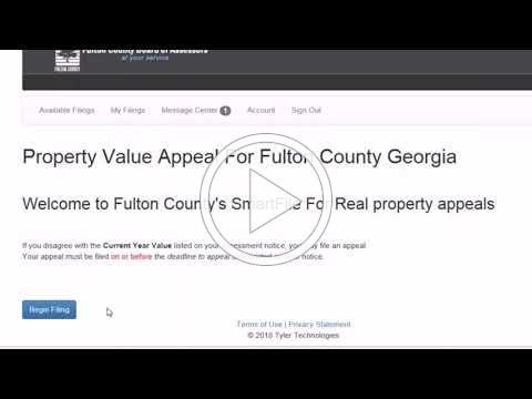 Fulton Assessor Smartfile video