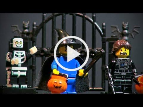 Halloween and All Saints' Day explained with LEGO