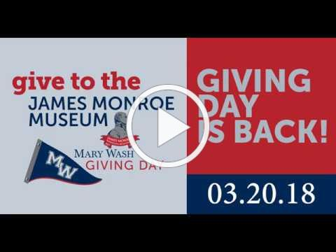 Mary Wash Giving Day 2018