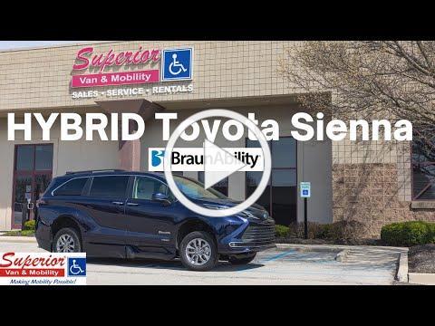Demo - 2021 Toyota Sienna Hybrid Wheelchair Accessible Van from BraunAbility