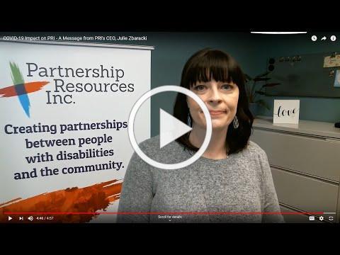 COVID-19 Impact on PRI - A Message from PRI's CEO, Julie Zbaracki