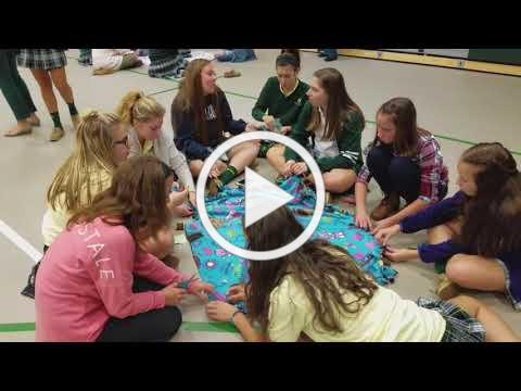 Interact Leads Students in Project Linus Service Project