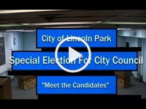 Meet The Candidates Special Election to be held May 8, 2018