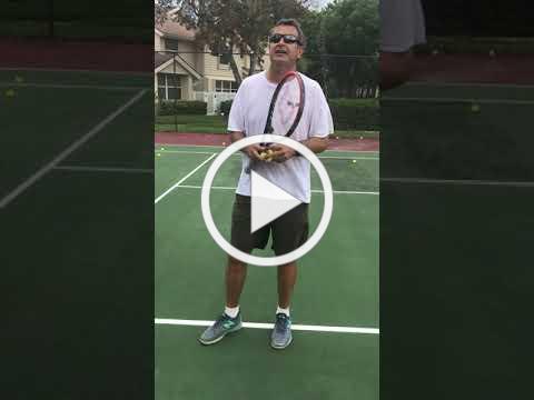 The Tennis Serve Toss